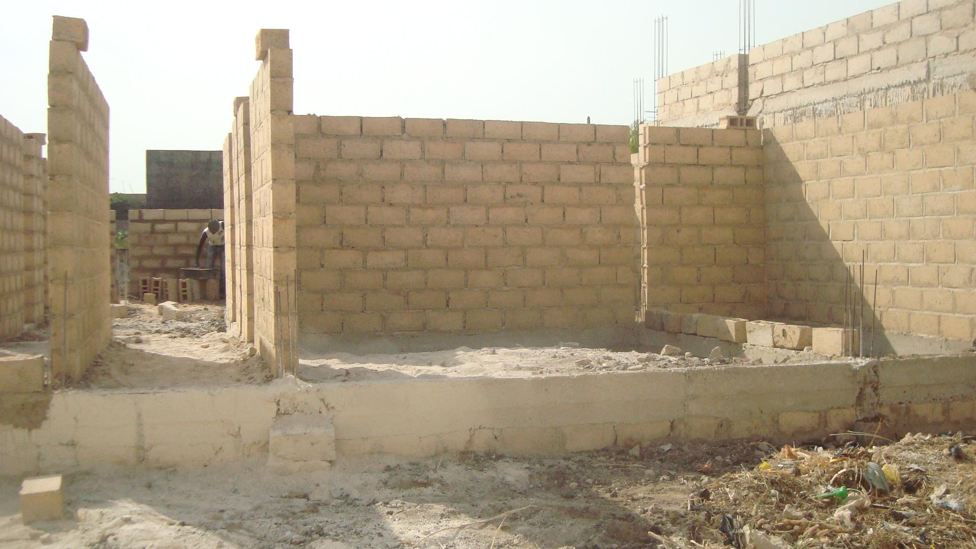 Construction Villa 4 chambres + salon Diamniadio