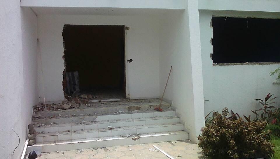 Travaux de démolition Sicap Mermoz