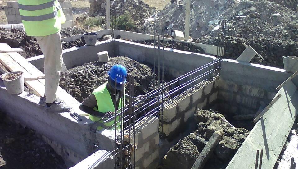 Chantier Zac Mbao - Évolution des travaux de fondation