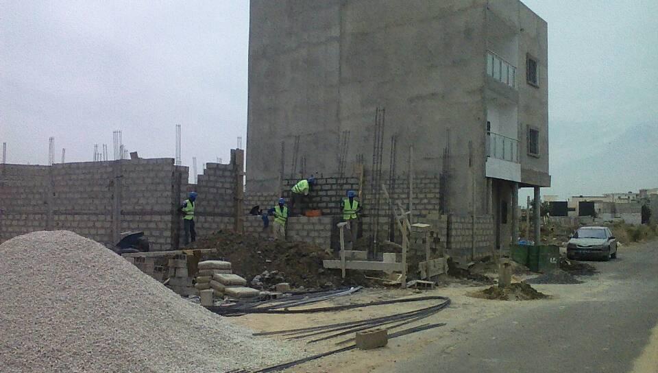 Évolution du chantier Zac Mbao