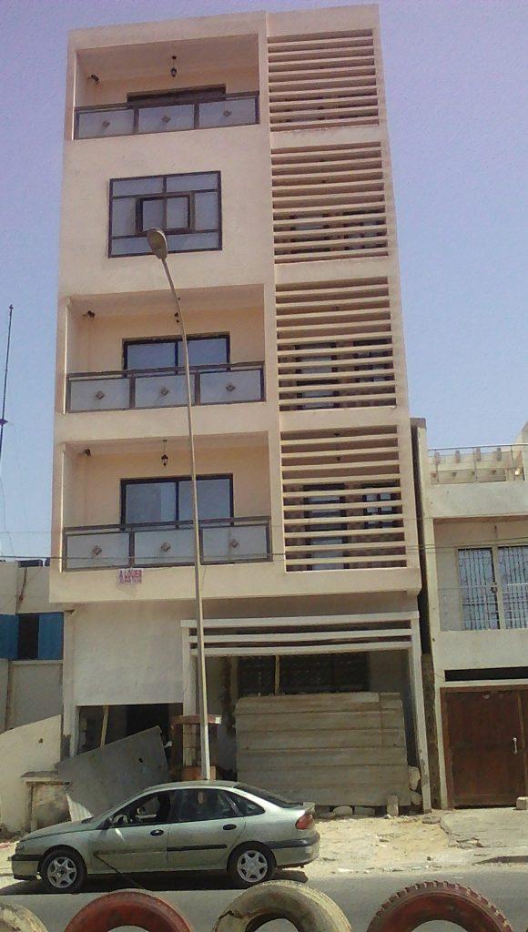 Construction  achevée  Immeuble R+4
